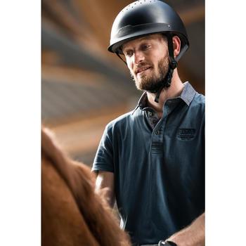 Polo manches courtes équitation homme Blason - 1282678
