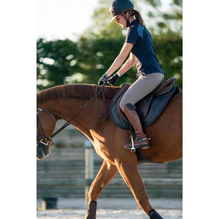 Pantalon équitation femme TRAINING LIGHT bandes silicone - 1282684