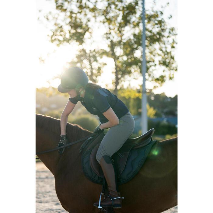 Pantalon équitation femme TRAINING LIGHT bandes silicone - 1282687