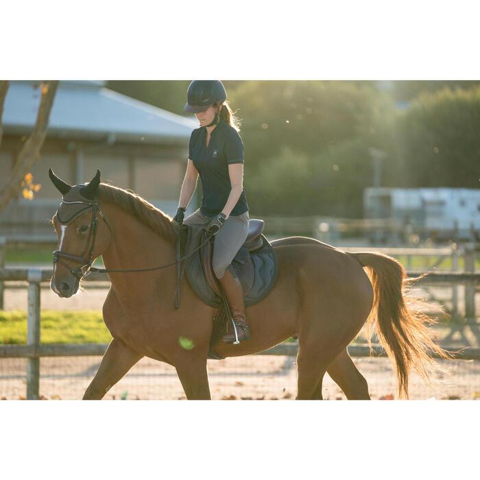 Pantalon équitation femme TRAINING LIGHT bandes silicone - 1282696