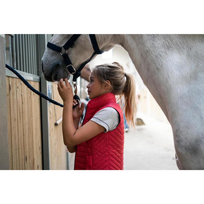 Gilet sans manche équitation fille GL100 - 1282710