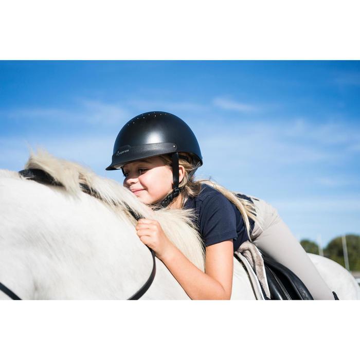 Casque d'équitation C100 noir - 1282712
