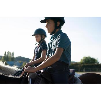 Polo manches courtes équitation garçon HORSE - 1282743