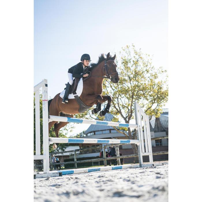 Chaqueta de concurso de equitación para niños COMP100 negra