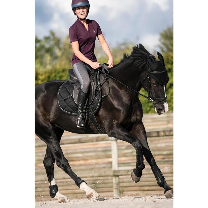 Paardrijlegging dames 100 Light grijs