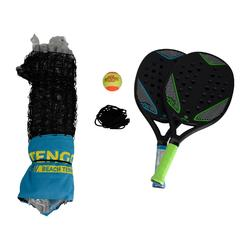 Beachtennis set met net