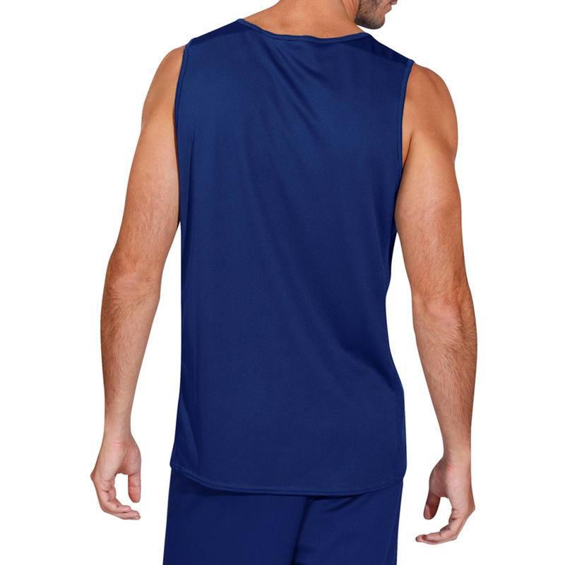 ADULT BASKETBALL TANK B300 BLUE