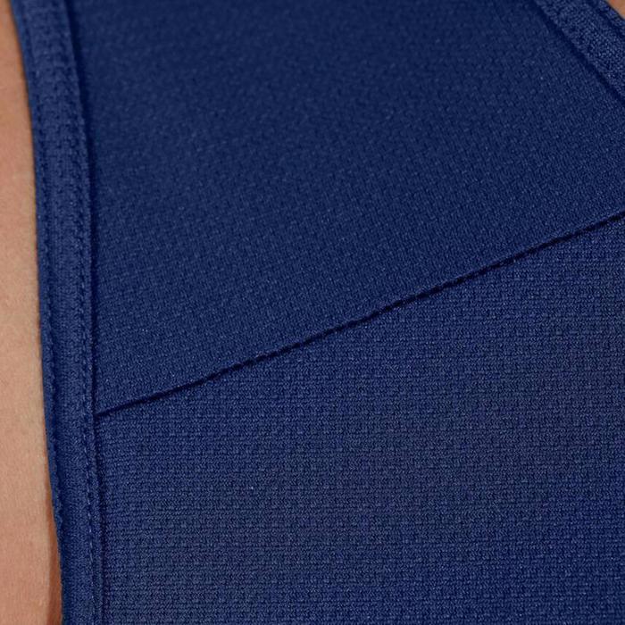 Basketbaltank voor heren T100 blauw