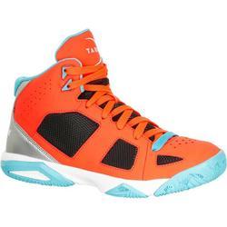 強力300 男童/女童藍球玩家鞋 - 藍色/橘色