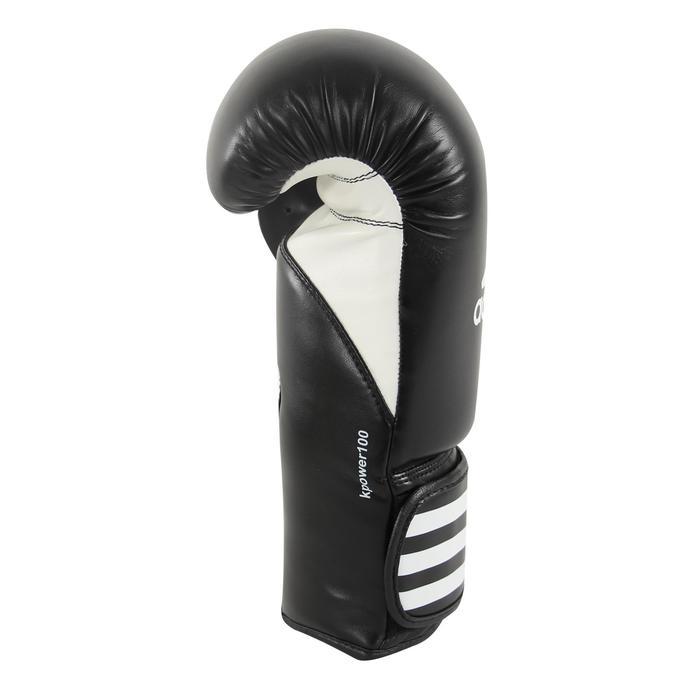 Gants de boxe KPOWER 100 confirmé noir - 1282835