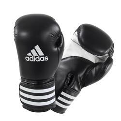 Bokshandschoenen KPower 100 voor ervaren boksers zwart
