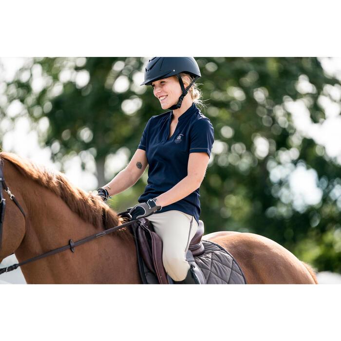 Tapis de selle équitation cheval 540 marron