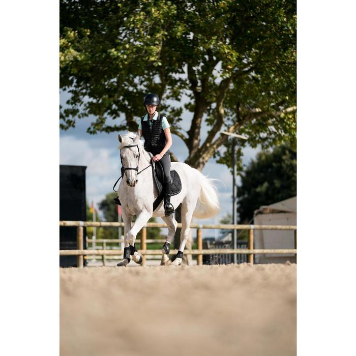 Chaleco equitación mujer GL100 Negro