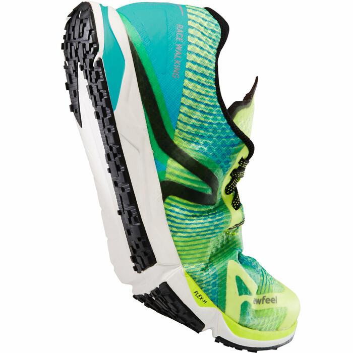 Chaussures marche athlétique RW 900 jaune / bleu - 1282925