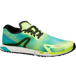 Zapatillas de marcha atlética RW 900 amarillas / azules