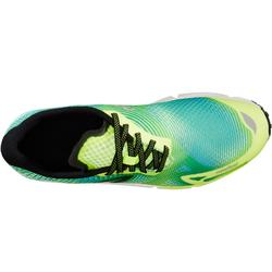 Zapatillas de Marcha Atlética Newfeel RW 900 Adulto Amarillo y Turquesa