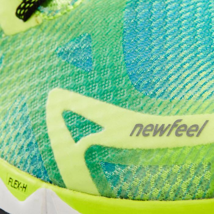 Chaussures de marche athlétique RW 900 jaunes et bleues