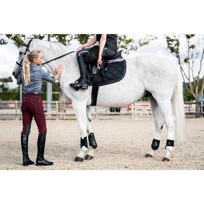 Pantalon équitation femme BR700 basanes - 1282953