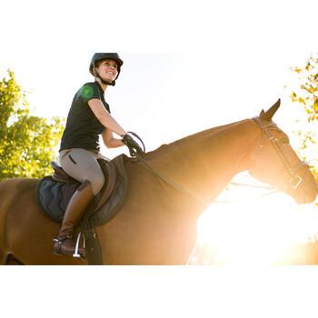 Pantalon équitation femme TRAINING LIGHT bandes silicone - 1282960