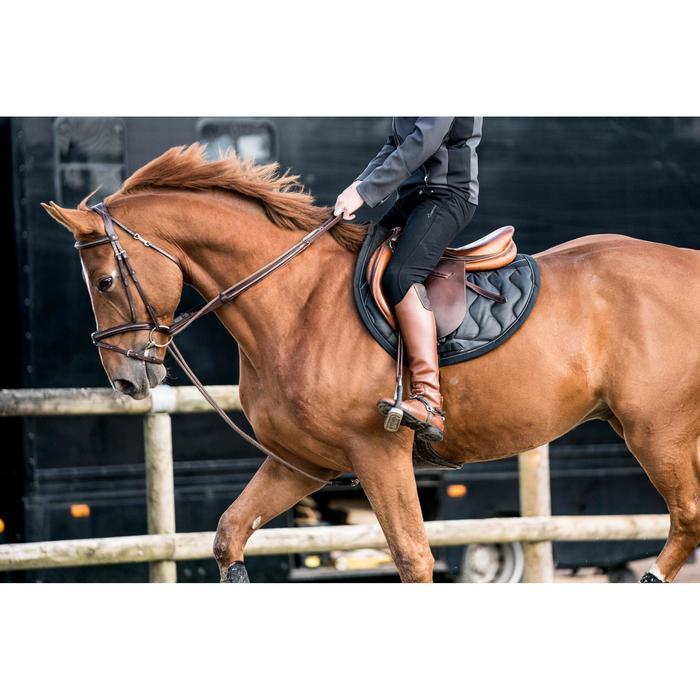 Botas de piel equitación LB 900 adulto marrón