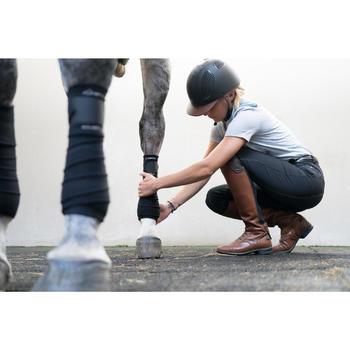 Leren rijlaarzen volwassenen LB 900 bruin