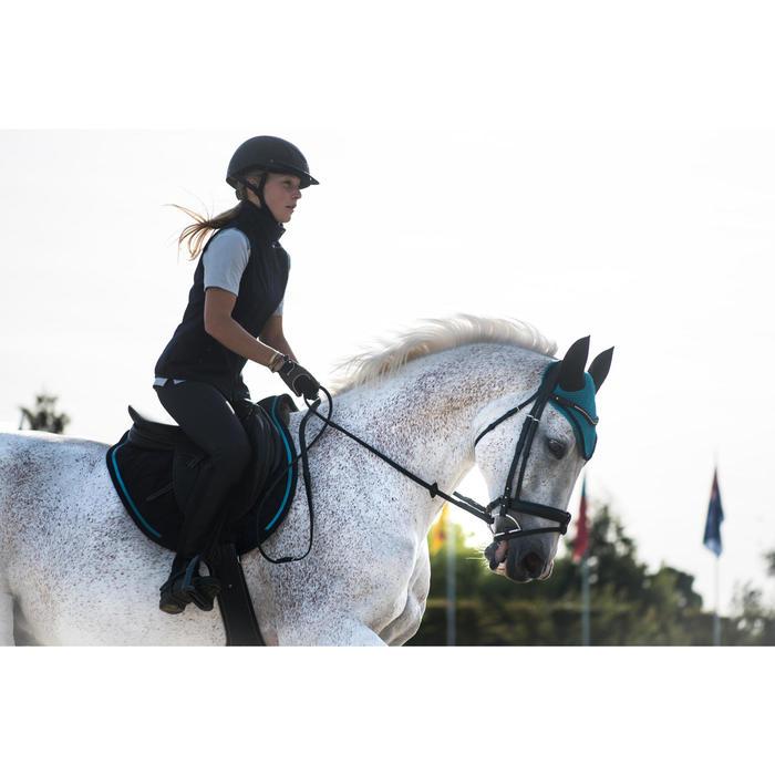 Vliegenmuts ruitersport voor paarden Riding turquoise