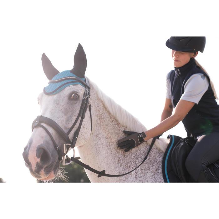 Bonnet équitation cheval RIDING turquoise