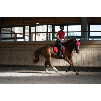 Bonnet équitation cheval RIDING rouge