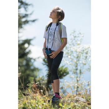 Leggings Wandern MH500 Kinder grau
