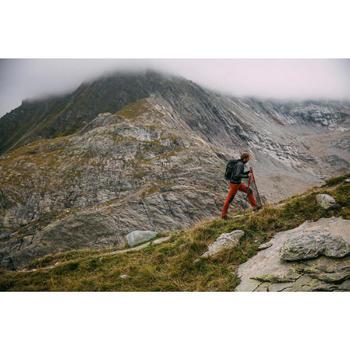 Funktionsjacke Bergwandern MH500 wasserdicht Herren schwarz