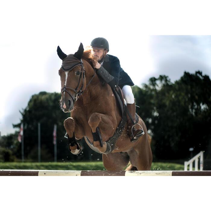 Pferdehaube Riding braun