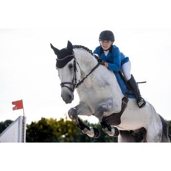 Tapis de selle équitation poney et cheval 580 bleu électrique