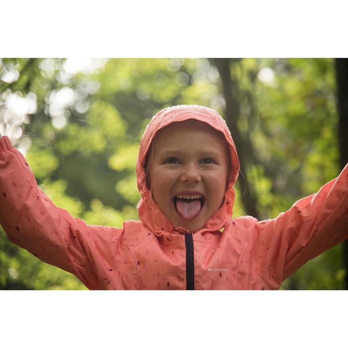 VESTE de RANDONNEE enfant Hike 500 VERT