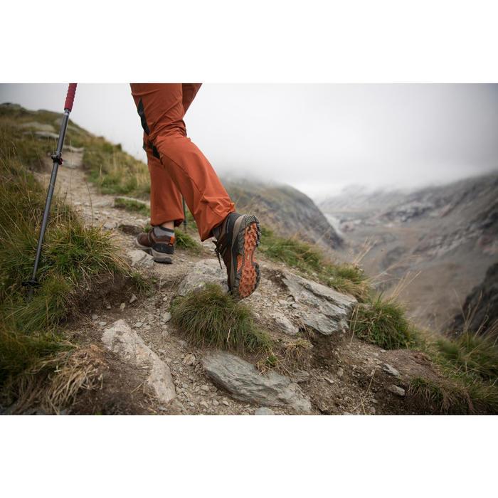 Chaussures de randonnée montagne homme MH500 imperméable Marron - 1283068