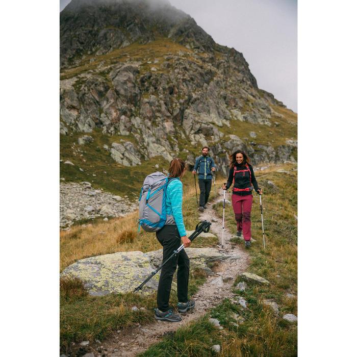 Pantalón de senderismo en la montaña MH500 Mujer Negro