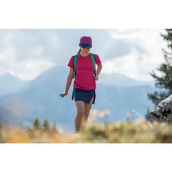 T-Shirt de randonnée enfant Hike 100 rose