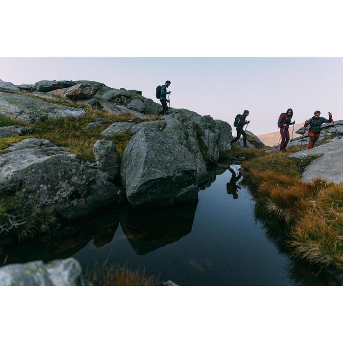 Wanderjacke wasserdicht Bergwandern MH500 Herren dunkelblau
