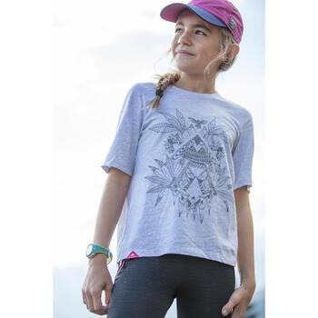 T-Shirt de randonnée fille Hike 500 - 1283092