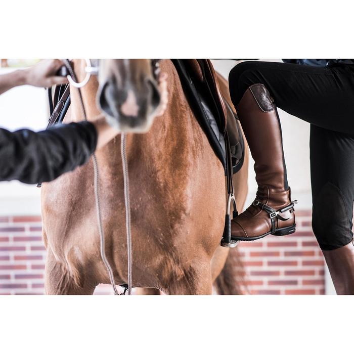 Bottes cuir équitation adulte LB 900 - 1283100