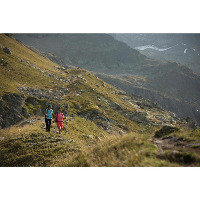 Tee-Shirt manches courtes de randonnée en montagne MH500 Femme - 1283107