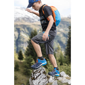 Wanderschuhe Crossrock Kinder Jungen khaki