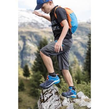 Wandershorts Hike 500 Kinder Jungen grau