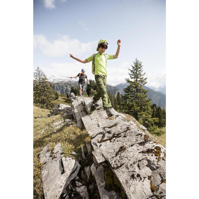 Casquette randonnée enfant Hike 500 vert