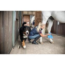 Chaleco Equitación Fouganza 100 Mujer Azul Marino De Guata