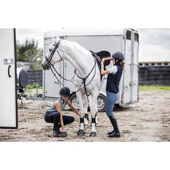 Gilet sans manche équitation femme GL500 marine