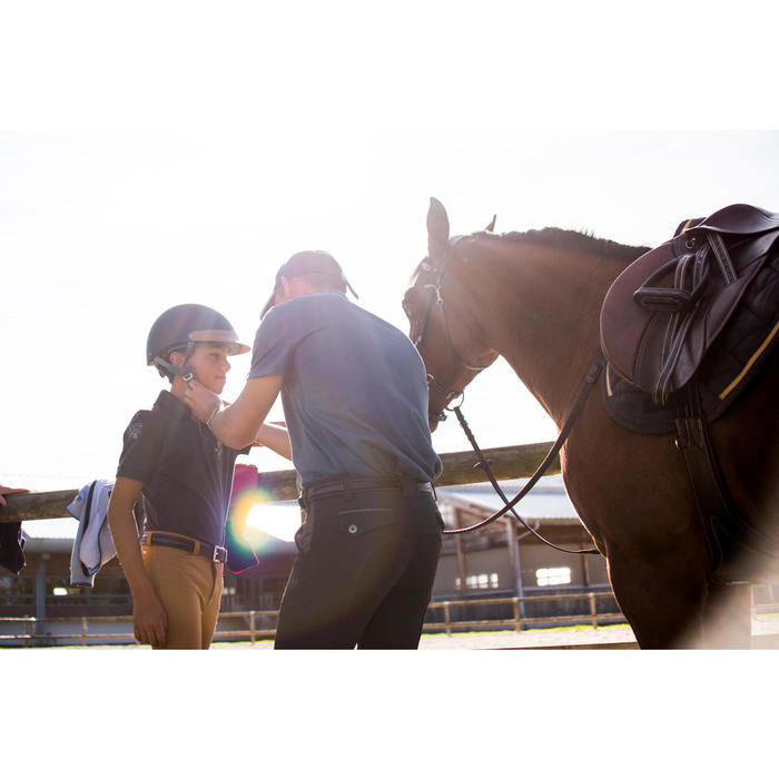 Polo manches courtes équitation garçon HORSE - 1283147