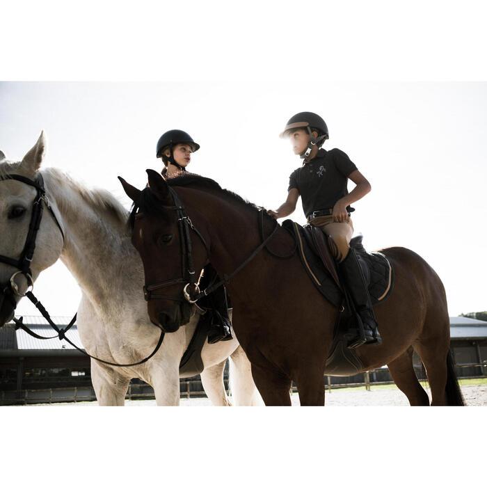 Polo manches courtes équitation garçon HORSE - 1283150