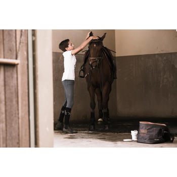 Pantalon équitation enfant BR140 basanes - 1283164