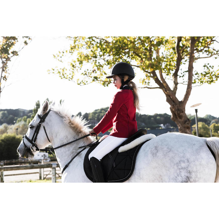 Veste de Concours équitation enfant COMP100 - 1283185