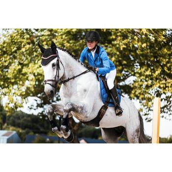Veste de Concours équitation femme COMP100 bleu roi - 1283189